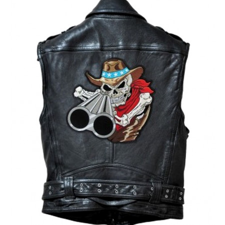 Patch Ecusson Ace Of Spades Skull