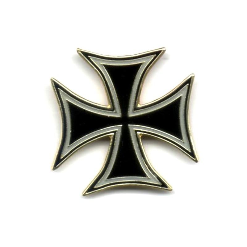 Pin's Biker Croix de Malte...
