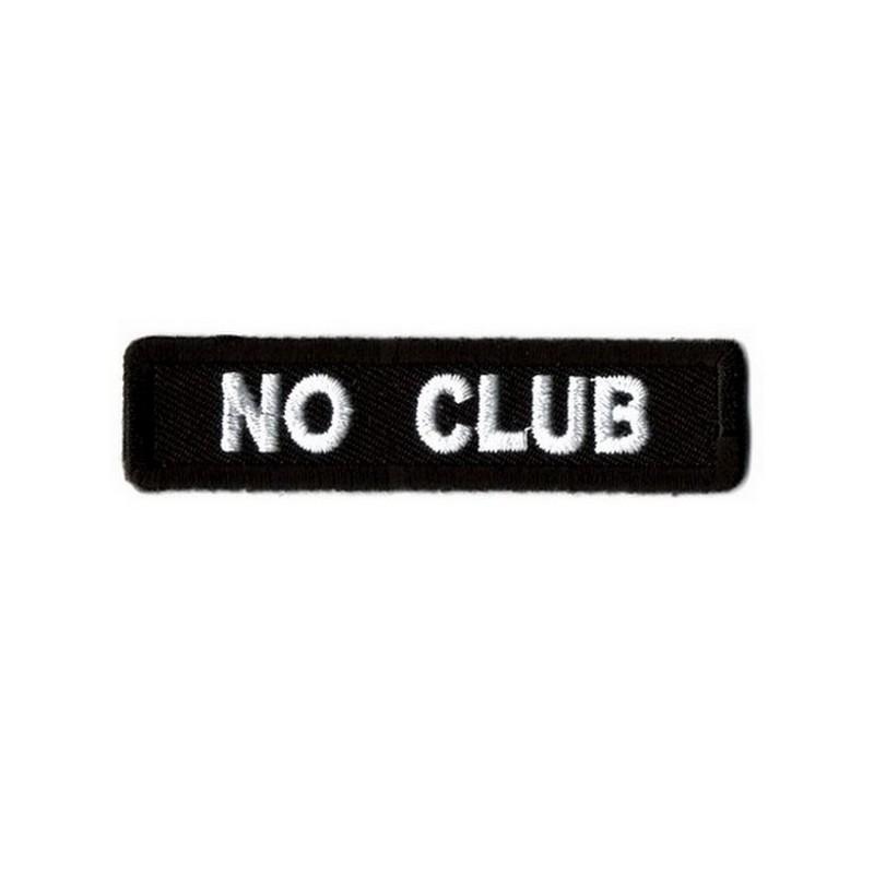 Patch Ecusson Biker No Club