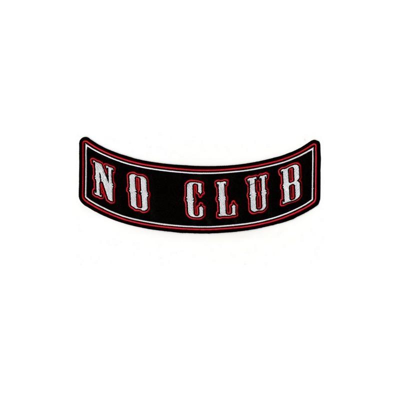 Patch Ecusson Biker No Club...