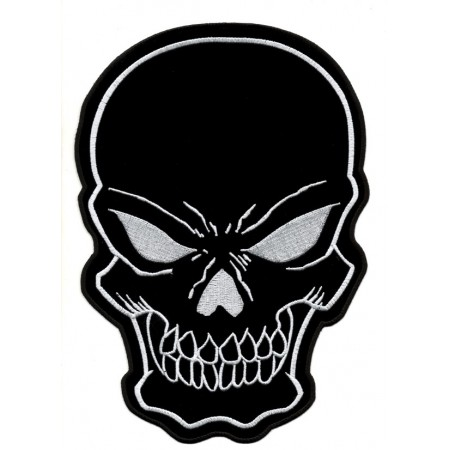 Patch Ecusson Biker Black...