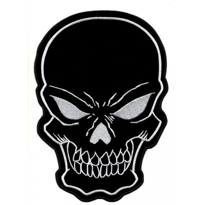 Patch Ecusson Biker Black...