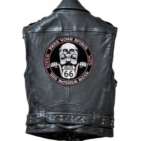 Patch Ecusson Biker Free...