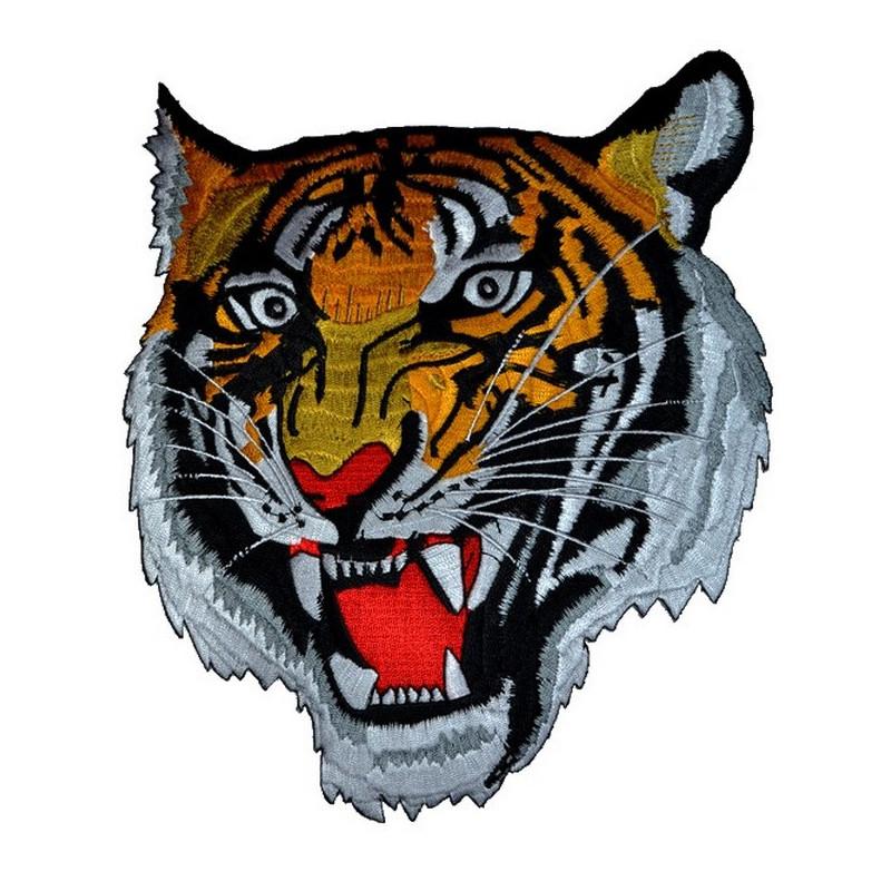 Patch Ecusson Tête de Tigre...