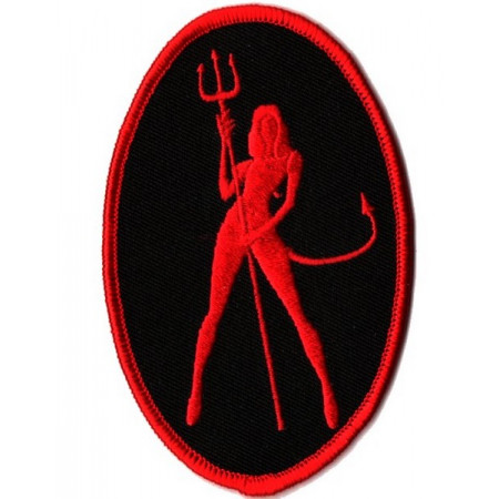 Patch Ecusson  Red Devil...