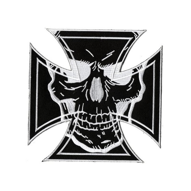 Patch Ecusson Skull Iron...