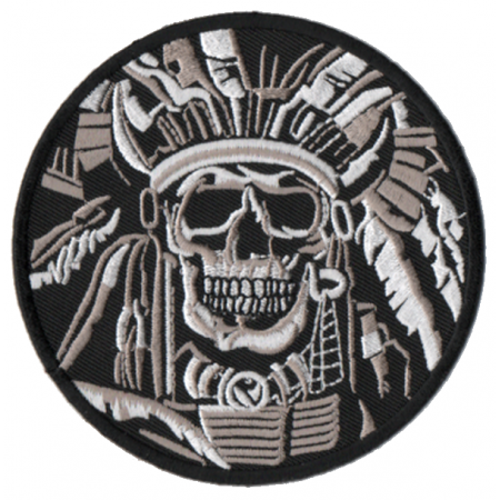 Patch Ecusson Skull Indian...