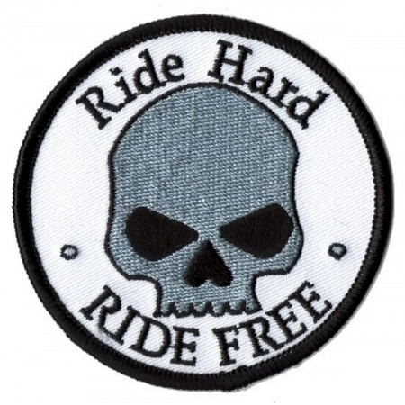 Patch Ecusson Skull Ride...