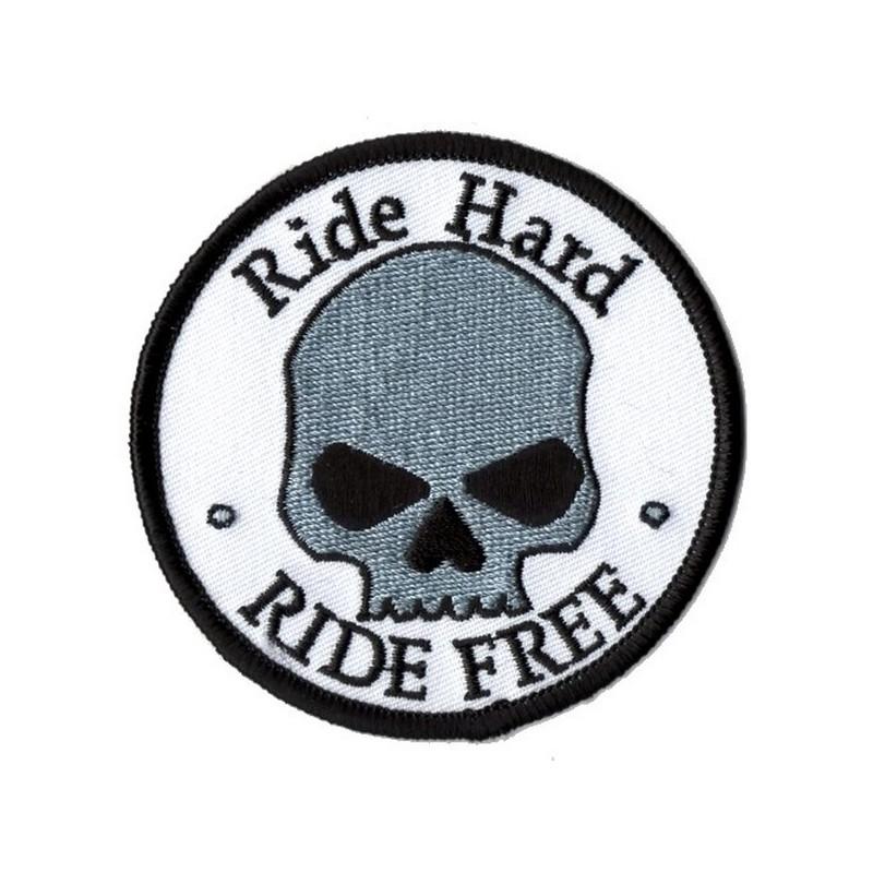 Patch Ecusson Skull Ride...