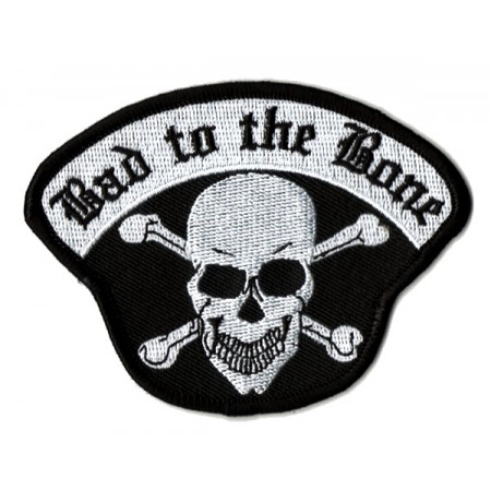 Patch Ecusson Skull Bad To...