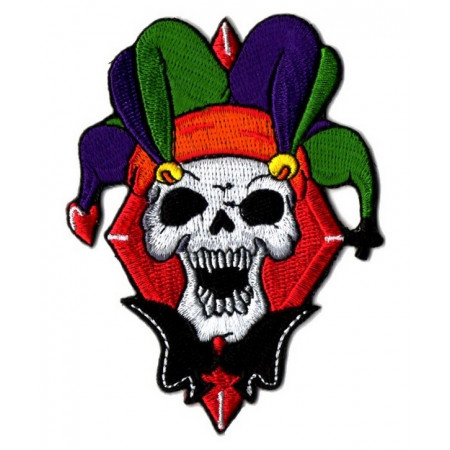 Patch Ecusson Biker Skull...