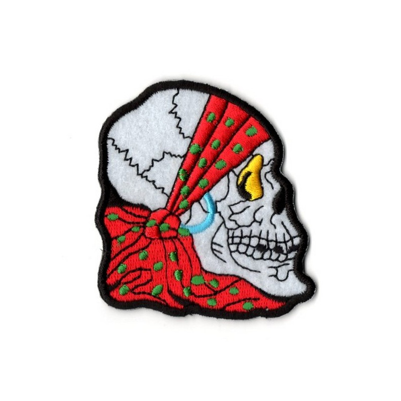 Patch Ecusson Skull Bandana