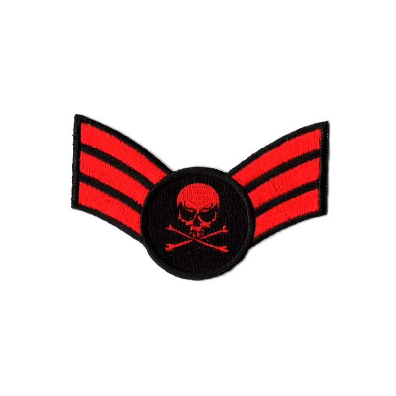Patch Ecusson Red Skull...
