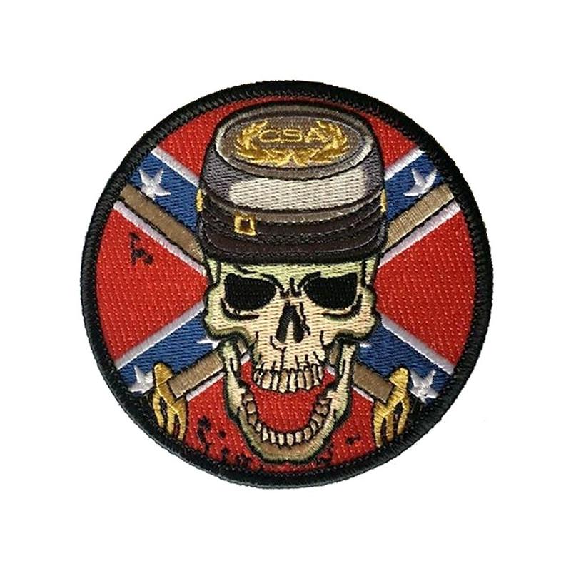 Patch Ecusson Skull Rebel