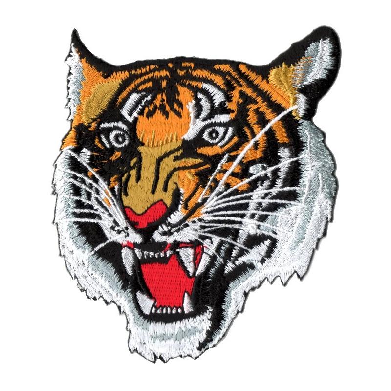 Patch Ecusson Tête De Tigre