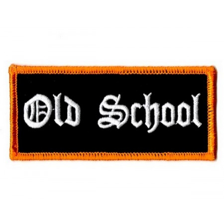 Patch Ecusson Biker Old School