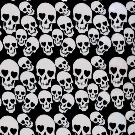 Crâne / Tête de Mort  Harlequin Racing Skull