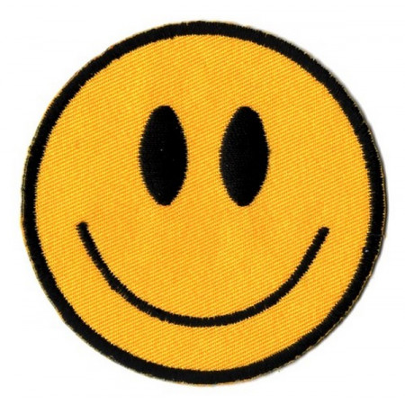 Patch Ecusson Smiley