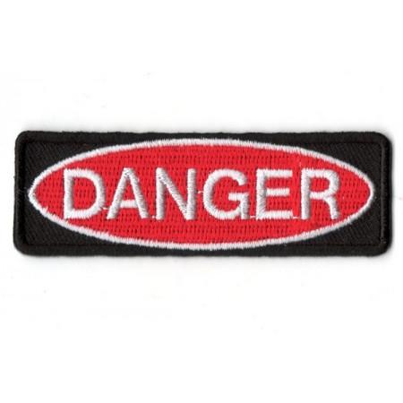 Patch Ecusson Biker Danger