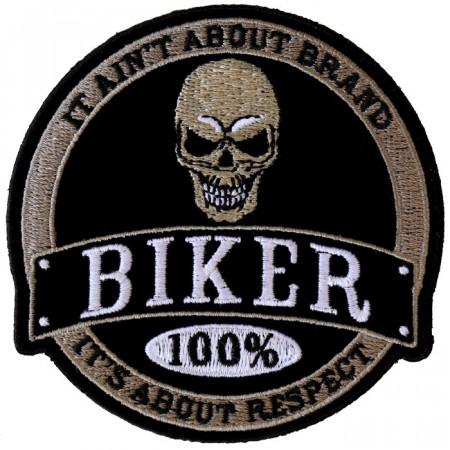 Patch Ecusson 100% Biker...