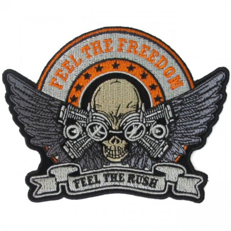 Patch Ecusson Skull Feel...