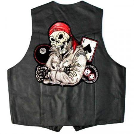 Patch Ecusson Biker Pirate...