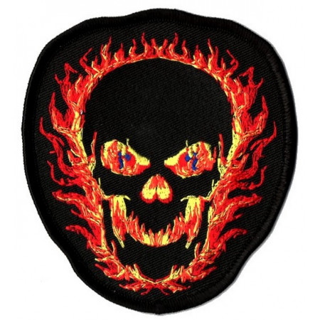 Patch Ecusson Biker 100% Authentic