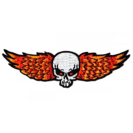 Patch Ecusson Biker Skull...