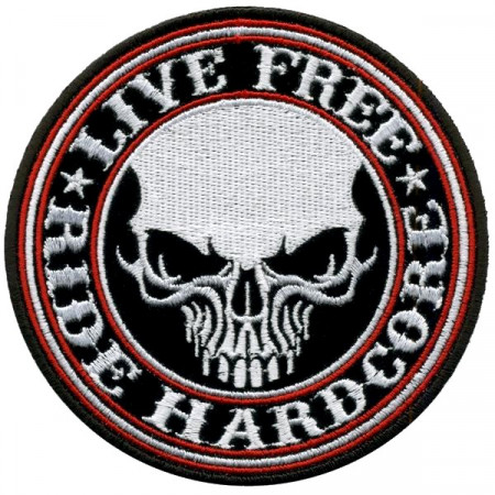 Patch Ecusson Liver Free...