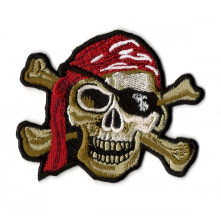 Patch Ecusson Skull Pirate...