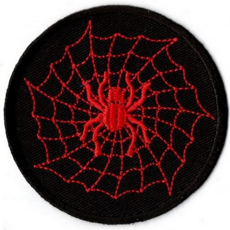Patch Ecusson Red Spider Web