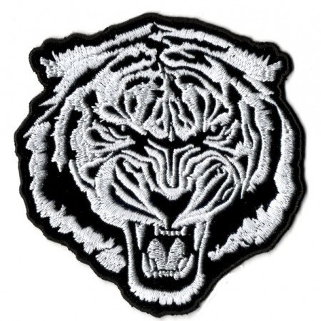 Patch Ecusson White Tiger