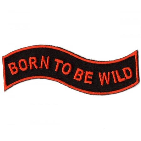 Patch Ecusson Biker Born To...