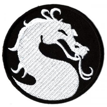 Patch Ecusson White Dragon