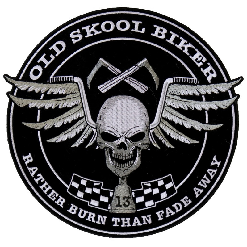 Patch Ecusson Old Skool...