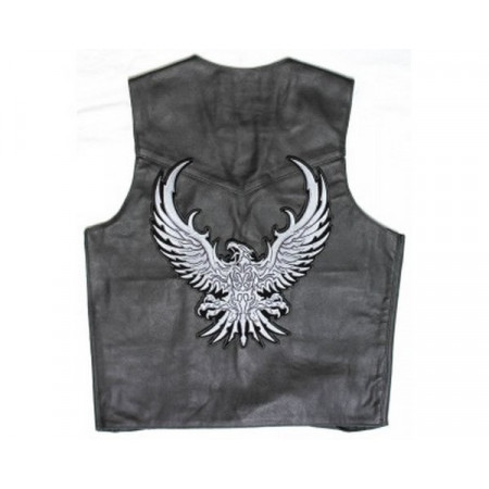 Patch Ecusson Biker Silver...