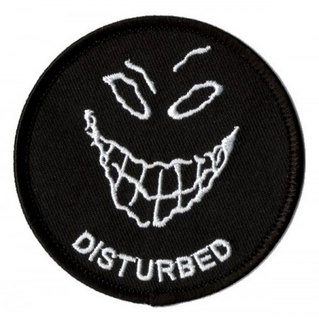 Patch Ecusson Smiley Disturbed