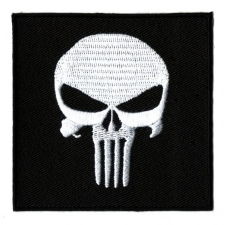 Patch Ecusson To Hell And Back Winged Skull