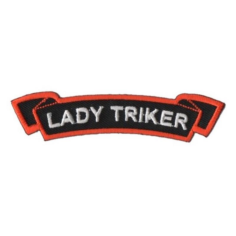Patch Ecusson Biker Lady...