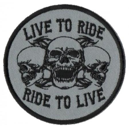Patch Ecusson Biker Triple...