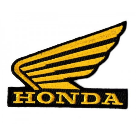 Patch Ecusson Biker Honda Wing