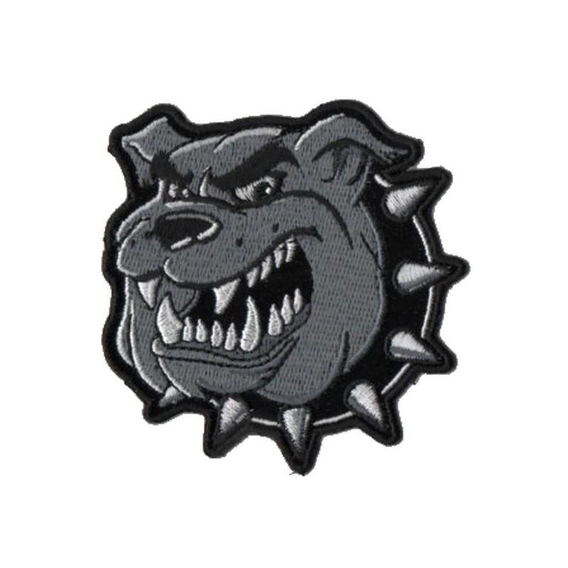 Patch Ecusson Biker Bulldog