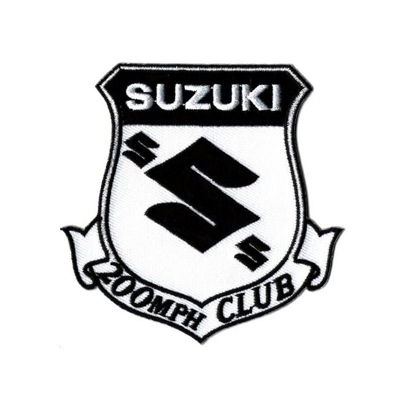 Patch Ecusson Biker Suzuki...