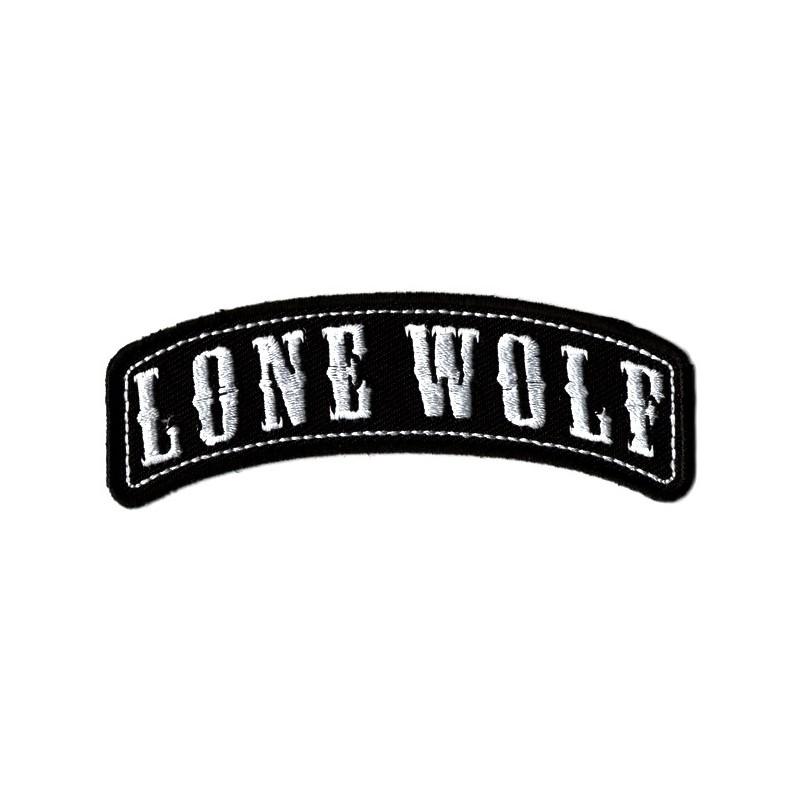 Patch Ecusson Biker Lone Wolf