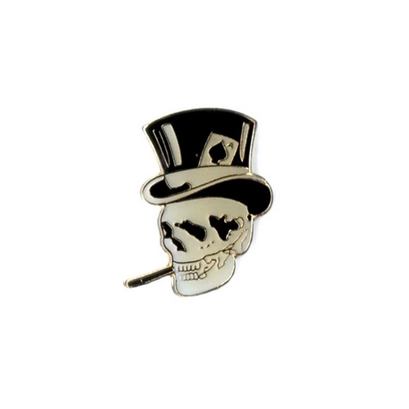 Pin's Biker Skull Ace of Spade