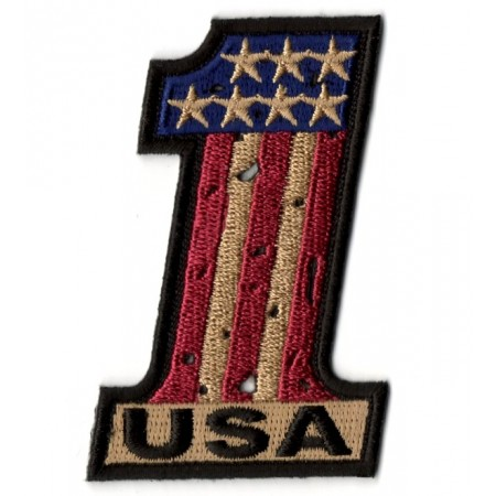 Patch Ecusson Biker USA N°1...