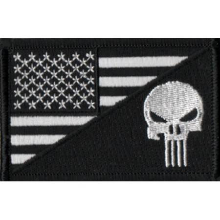 Patch Ecusson Biker Drapeau...